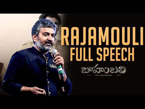 Thumbnail: Rajamouli Full Length Speech - Baahubali - The Beginning || Audio Launch Live