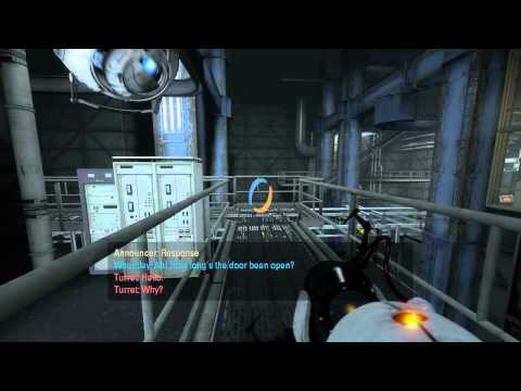 Let's Play Portal 2 Singleplayer E5 - The Escape