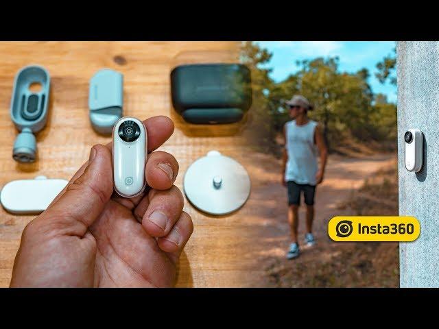 Insta360 GO - la plus petite caméra du moment - Présentation et tests