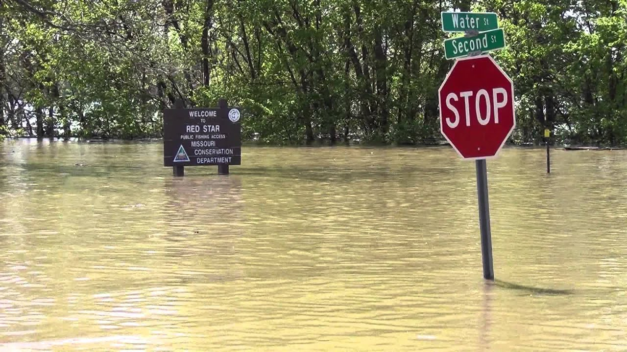 4/25/2013 Cape Girardeau, MO River Flood Crest