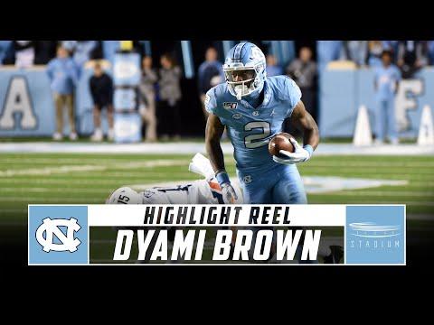 North Carolina WR Dyami Brown Highlight Reel - 2019 Season | Stadium