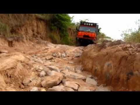 DAF Truck in Congo