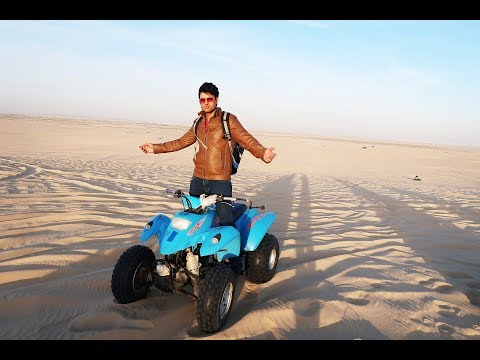 Half Moon Beach....Best Place For Desert Riding In Saudi Arabia
