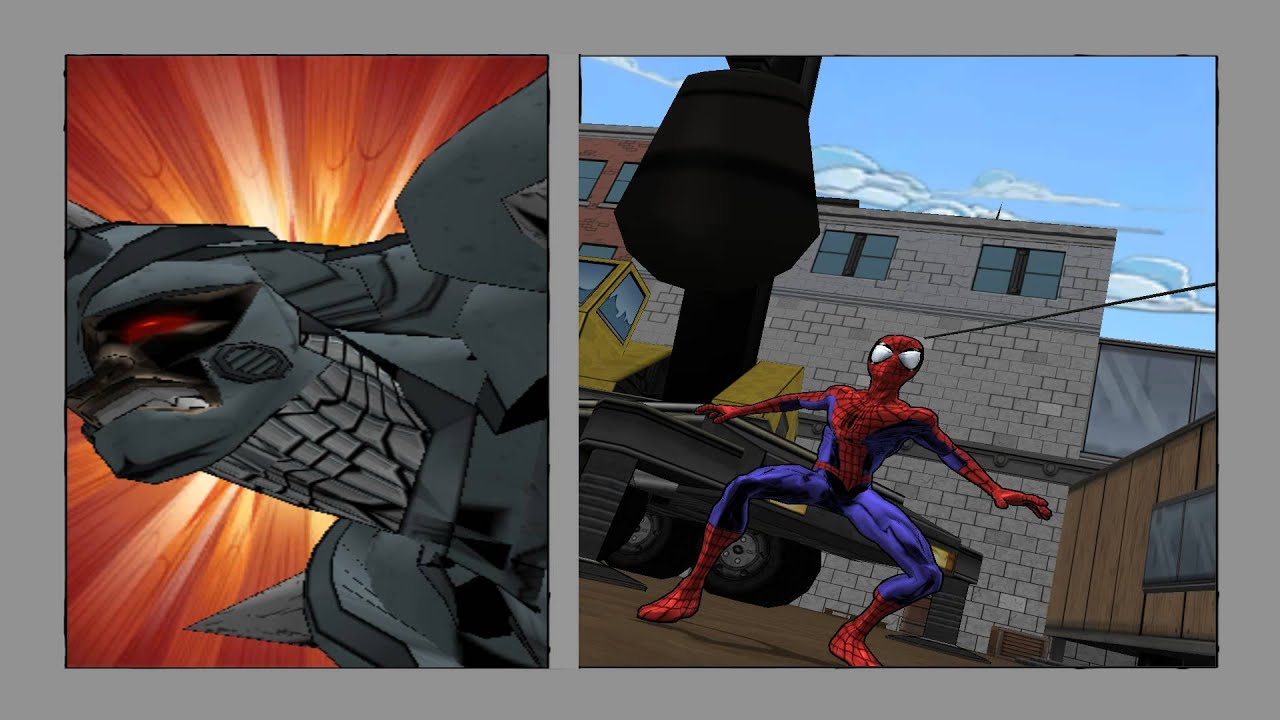 Ultimate spiderman vs rhino