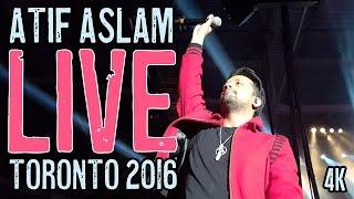 Atif Aslam - Aadat ELECTRIFYING LIVE FINALE Toronto 2016 in 4K
