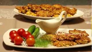 Оладьи с кальмарами - Рецепт Бабушки Эммы