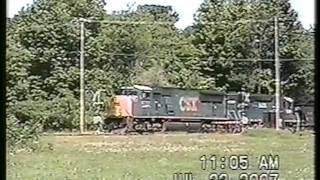 Ambulance Stops Train 7-22-2007