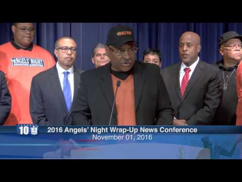2016 Angels' Night Wrap Up News Conference