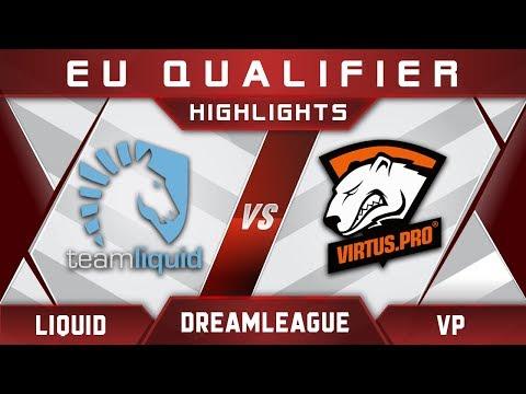 Liquid vs VP DreamLeague Major 2017 EU Highlights Dota 2