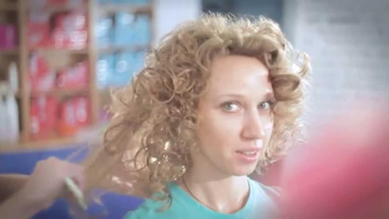 химическая завивка волос видеоурок