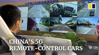 Chinese 5G remote-control system takes the wheel at Shanghai Auto Show