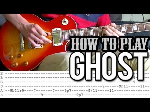 Slash - Ghost FULL Guitar Lesson (WITH TAB)