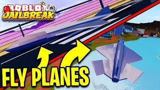 FLYING THE JAILBREAK PLANE! (How To Guide) | Roblox Jailbreak New Update
