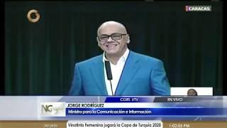Jorge Rodríguez: ¿Juan Guaidó dónde están los 184 millones de dólares que te dieron?