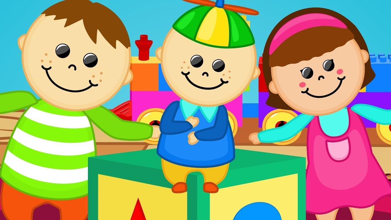 Oyuncaklar ile Baş Omuz Diz Ayak - Dünya Çocuk Şarkıları