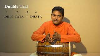 Dholak Lesson-14,How to play Double Taal in Kirtan || Learn How to play speed in bhajan