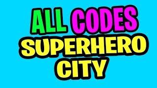 "⚡️""ALL CODES SUPERHERO CITY UPDATE CODES JUNE 2019'' Superhero City RELEASE Roblox"
