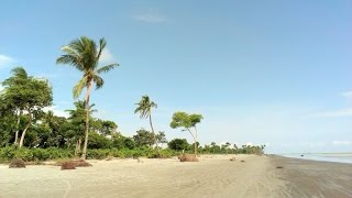 Beautiful Kuakata Beach Ride with Bike,Bangladesh