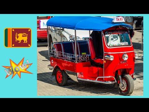 SRI LANKA, my adventurous tuk-tuk ride in COLOMBO