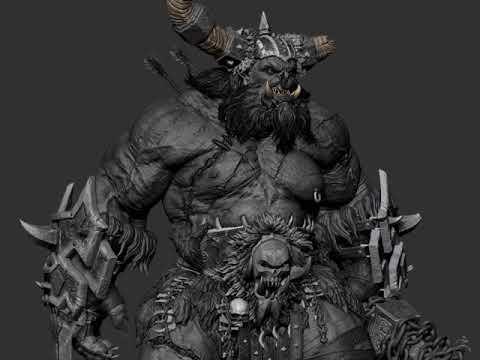 Fan Art Of WarCraft  By Gaurav Kumar 01
