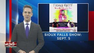 Thomas Rhett Making September Stop In Sioux Falls