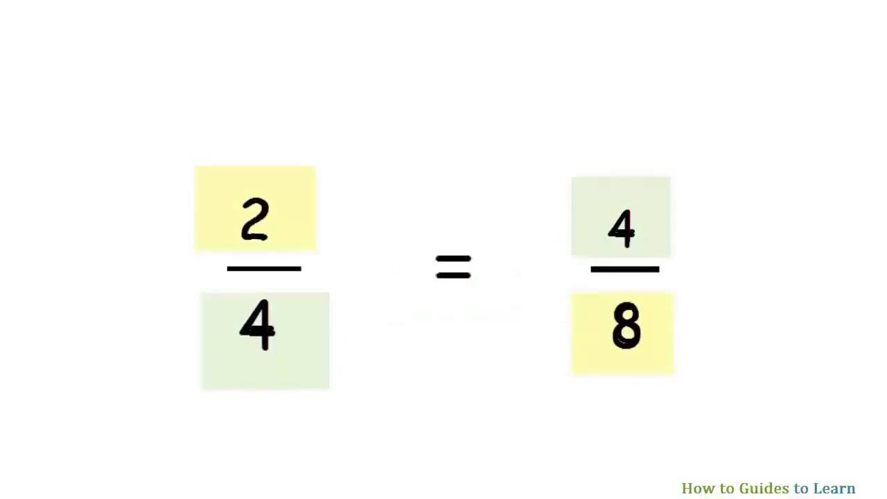 worksheet Equivalent Fractions Year 6 Worksheet how to find equivalent fractions youtube fractions