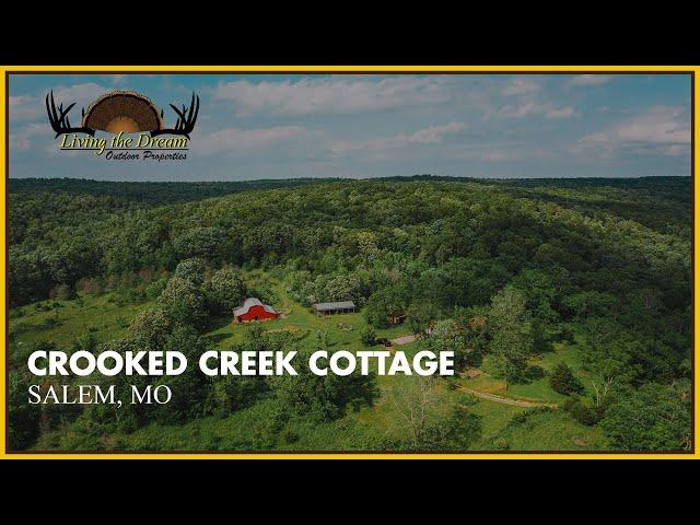 Crooked Creek Cottage | Salem, Missouri
