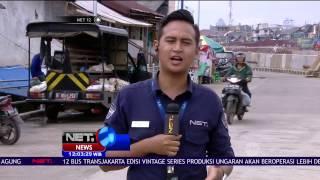 Live Report Banjir Kampung Pulo Sudah Surut - NET12