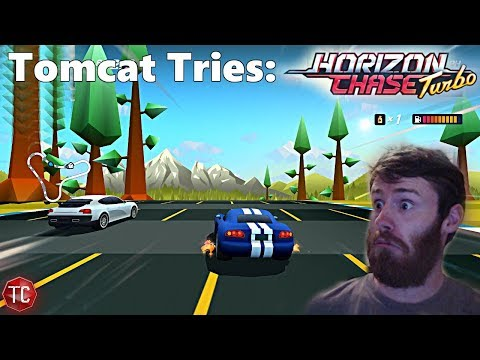 Tomcat Tries: Horizon Chase Turbo! The Easiest, Yet HARDEST, New Arcade Racer?