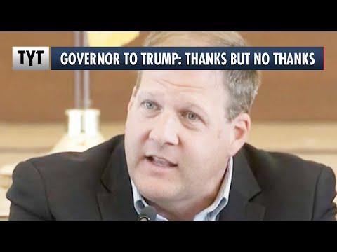 Republican Governor Rejects Trump's Rally Invite