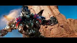 Transformers AOE slow motion Optimus Prime transformation - HD