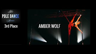 Miss Pole Dance America 2016 3rd Place Winner Amber Wolf