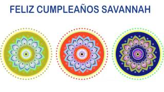 Savannah   Indian Designs - Happy Birthday