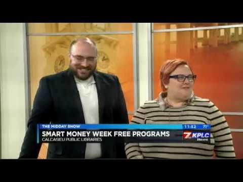SMART MONEY WEEK AT CALCASIEU LIBRARY