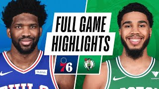 Game Recap: Sixers 106, Celtics 96