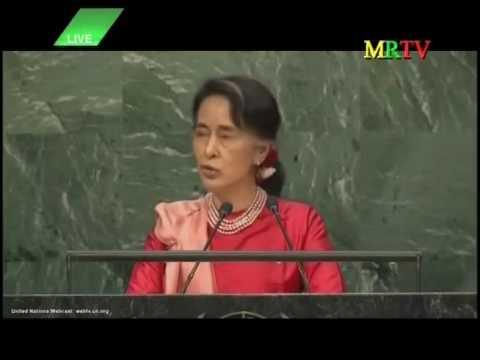 20160921 UN 71GeneralAssembly Statement by H.E. Daw Aung San Suu Kyi,