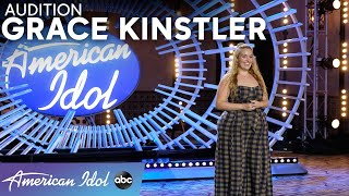 Grace Kinstler's Powerful Voice Brought Luke Bryan To Tears - American Idol 2021