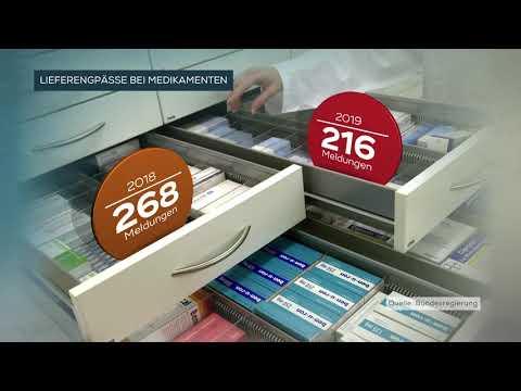 APOTHEKEN: Immer Häufiger Lieferengpässe Bei Medikamenten