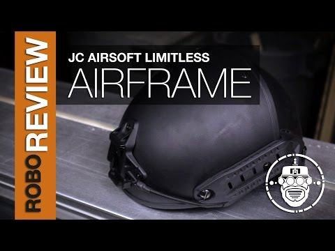 Robo-Airsoft: Robo Gear Review - JC Airsoft - Limitless AirFrame Repro Helmet