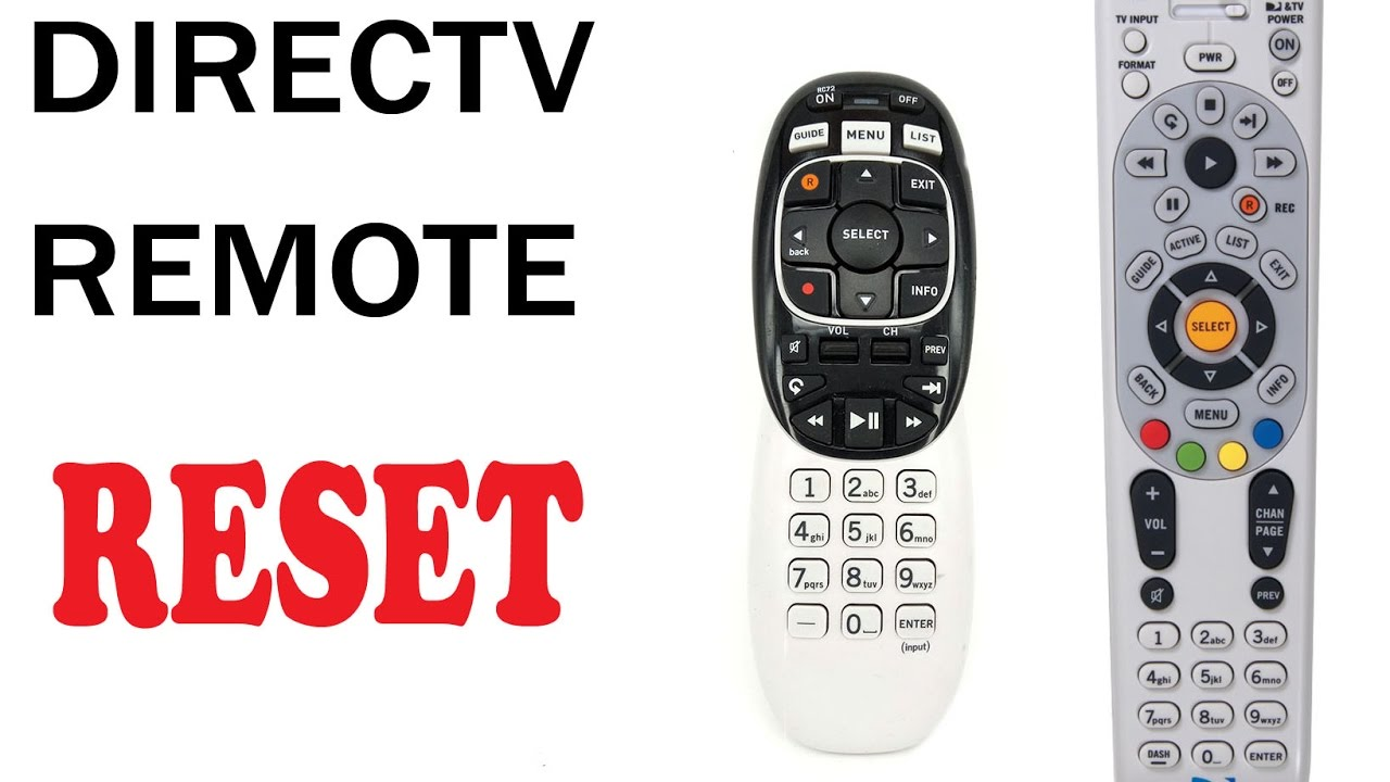 Directv remote red light on