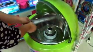Coin Operated Cotton Candy Diy Machine(棉花糖机