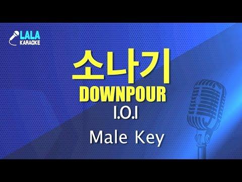아이오아이 _ 소나기 (I.O.I - Downpour) (남자키,Male) / LaLa Karaoke 노래방