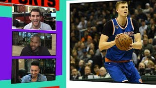 Should the new york knicks trade kristaps porzingis? | tmz sports
