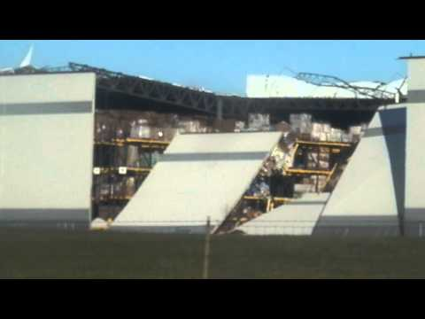 Dollar General Distribution Center In Marion, Indiana Damaged By Storms
