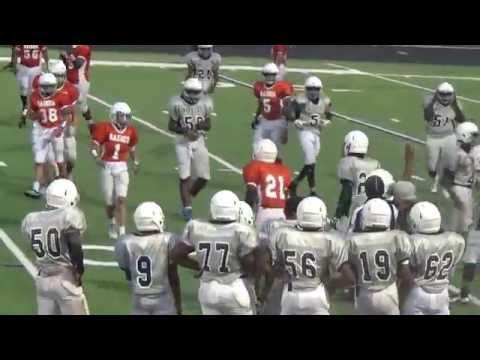 2016 8A BAINES MIDDLE SCHOOL VS. HODGES BEND DISTRICT SEMI-FINALS