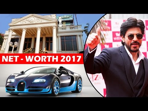 Shahrukh Khan's NET Worth, Cars, House 2017 - Bollywood's RICHEST Actor