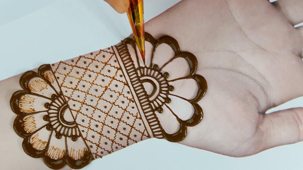 arabian mehndi design easy and beautiful