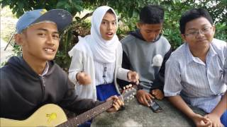 Tutorial chord/kunci gitar lagu Anji - dia