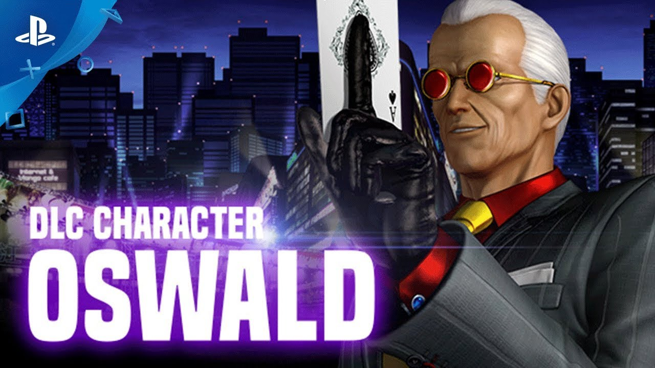 Oswald Revealed As Latest Dlc Character For The King Of Fighters