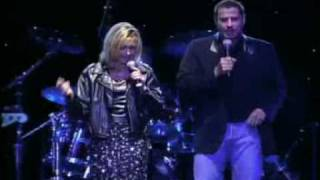 Olivia Newton-John & John Travolta -live- You re the One That I Want